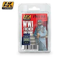 WWI FRENCH UNIFORMS