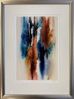 Åse Juul - Colours of abstraction II m/ramme