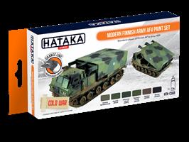 Modern Finnish Army AFV paint set
