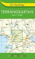 Karlskoga Terrängkartan 601