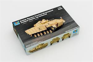 British Warrior Tracked Mech.Combat Vehicle