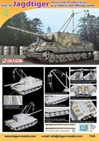 Sd.Kfz.186 Jagdtiger Henschel Production w/2 Metri