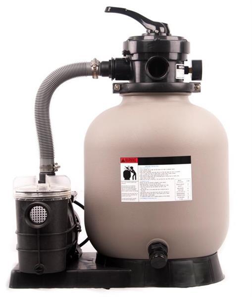 Sandfilter&Pump Saturn25 kg+pump0,25 kW