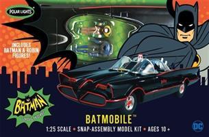 Batmobile Snap Kit w/ Figures