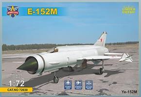 Ye-152M Soviet heavy interceptor prototype