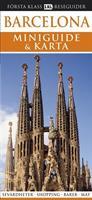 Barcelona - miniguide, karta