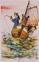 Øivind Jorfald - Stor fangst