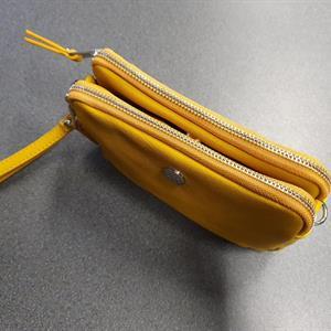 Ulrika liten väska 2 fack Gul