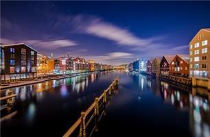 Aziz Nasuti-When orion looking at Trondheim