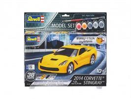 Model Set 2014 Corvette Stingray