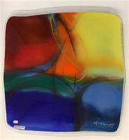 Åshild Karevoll - Abstrakt glasskunst farger