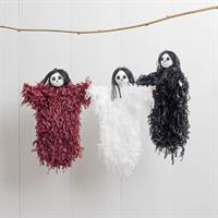 Spöke häng, vit/svart/röd sort