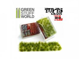 Grass TUFTS - 6mm self-adhesive Green