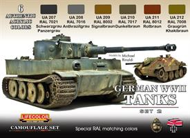 German WWII military colours No.2