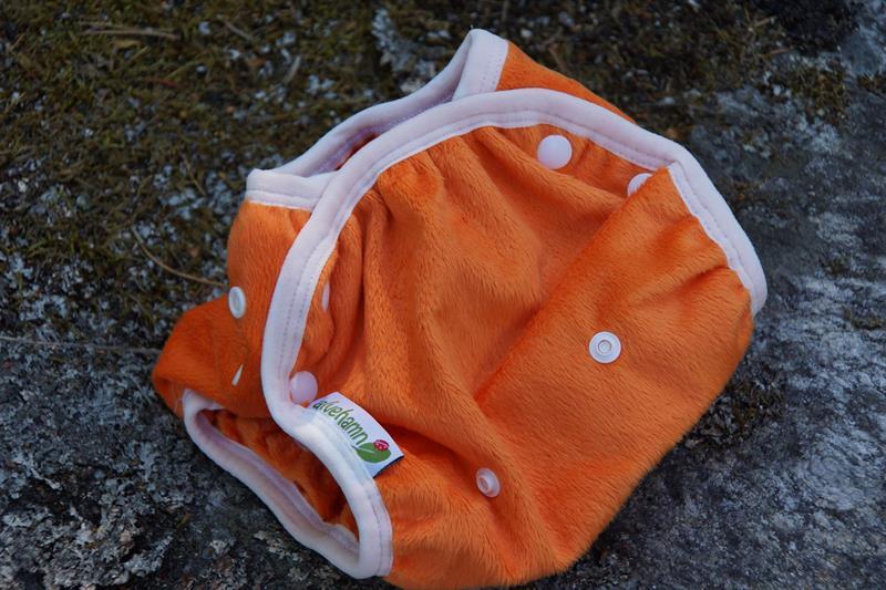Cover One size Minky Orange