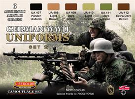 German military uniforms WWII set #2