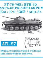 PT-76 - 76B / BTR-50 - 50P - 50PA - 50PK - 50PU -