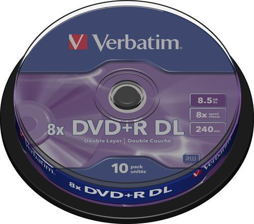 DVD+R DL MEDIA, VERBATIM 10P