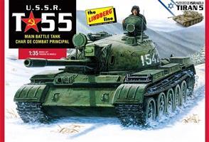 USSR T-55 Main Battle Tank Tiran 5