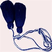 Dusker - Belte - Marine blå, hvit