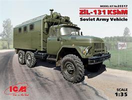 Zil-131 KshM Soviet Army Vehicle