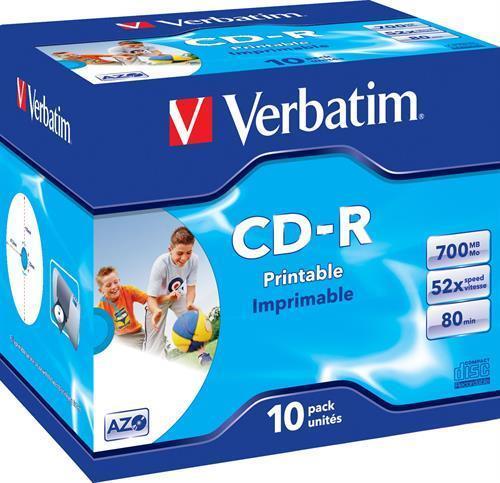 CD-R MEDIA, VERBATIM PLUS 52X
