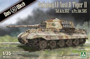 PzKpfwg. VI Ausf.B Tiger II Sd.Kfz.182 - s.Pz.Abt.