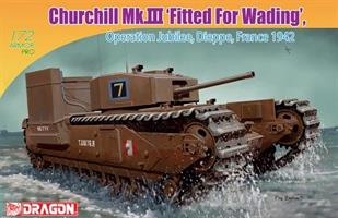 Churchill Mk.III 'Fitted for Wading'