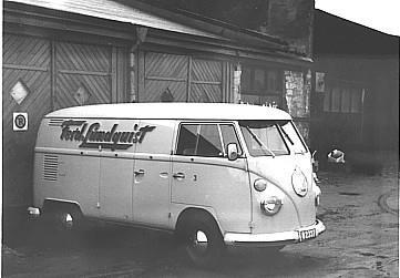 Ferdinad Lundquist senare NK Nordiska Kompaniet i Göteborg, Distributionsbil