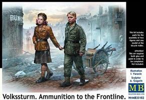 Volkssturm. Ammunition to the Frontline