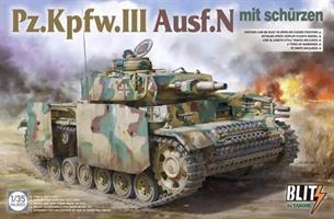 Pz.Kpfw.III Ausf.N / mit schürzen