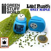 Miniature Leaf Punch MEDIUM BLUE