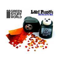 Miniature Leaf Punch DARK GREEN
