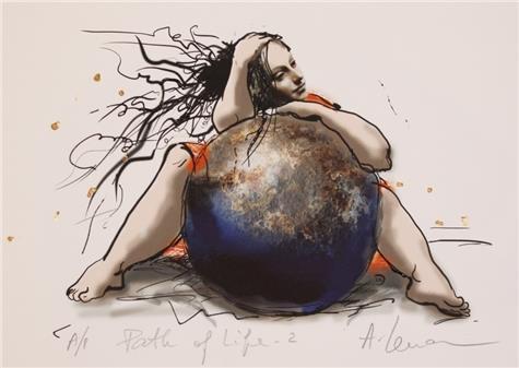 Lena Akopian-Path of life II