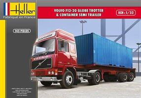 Volvo F12-20 Globetrotter & Container