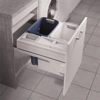 Tvättsystem 2x33 + 1x12 + 1x2,5 600stom D550mm inkl. gejder