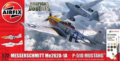 Messerschmitt Me262 & North American P-51D