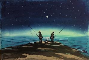 Kristian Finborud-Nattens fiskere