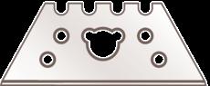 TRAPEZOID BLADE NO. 41 Vaihtoterä 0.63 mm