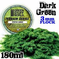 Static Grass Flock - 6 mm - Realistic Green - 1