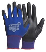 Fingerd. handske PU Grips Air