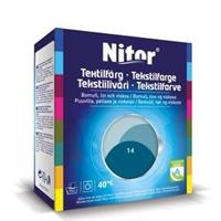 Nitor Tekstilfarge, Petrol 14