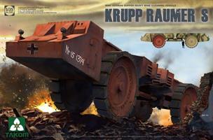 Krupp Raumer S WWII German Super Heavy Mine Cleari