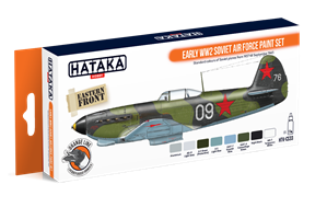 Early WW2 Soviet Air Force paint set