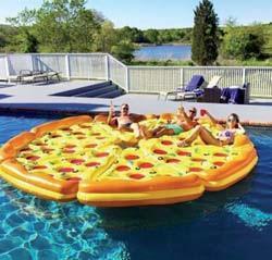 Flytmadrass Pizza Slice