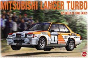 MITSUBISHI LANCER TURBO '82 RALLY OF 1000 LAKES