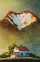 Kjell Thorjussen-Hus under fjell