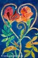 2 hearts - flourishing together, orginal