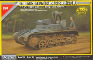 German Panzer I Ausf. A sd.Kfz.101 [Early / Late V