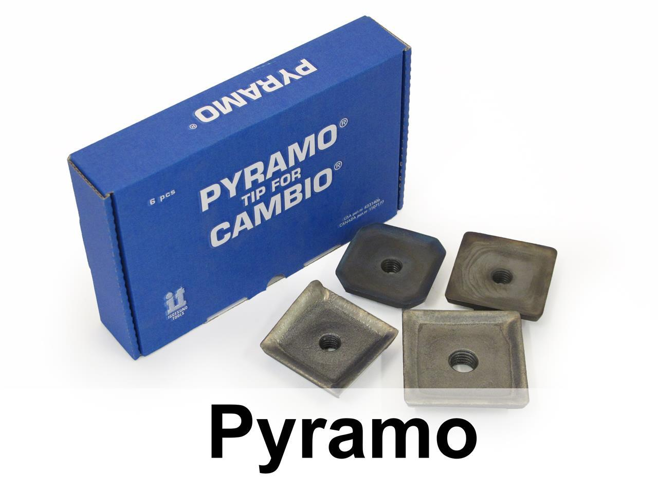 Pyramo tip for Cambio Debarker